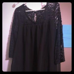 Short, shift, a-line dress